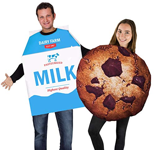 Tigerdoe Cookie and Milk Costume - Couple Costumes - Food Costumes - Funny Costumes
