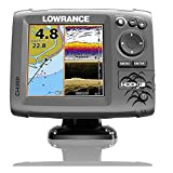 Lowrance 5 Best Deals - Lowrance 000-12656-002 Navico Hook 5 with Card & Cover Mid/High Down Scan,
