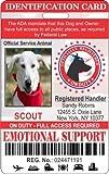 IDCards4U Emotional Support Dog Identification