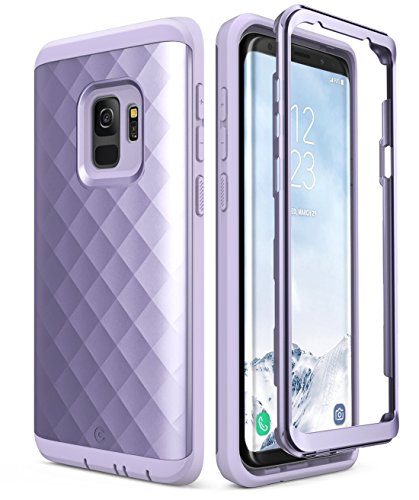 Samsung Galaxy S9 Case, Clayco [Hera Series] Full-body Rugged Case WITHOUT Screen Protector for Samsung Galaxy S9 (2018 Release) (Purple)