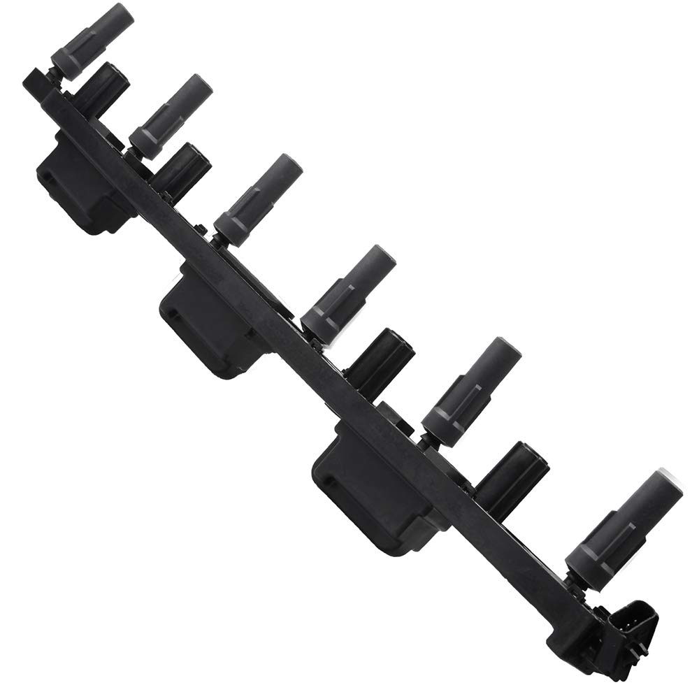 SCITOO Ignition Coils Compatible with UF296 Fits for Jeep Cherokee/Jeep Grand Cherokee/Jeep Wrangler 2000-2006