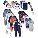 Gerber Baby 26 Piece Essentials Gift Set, Sports, New Born