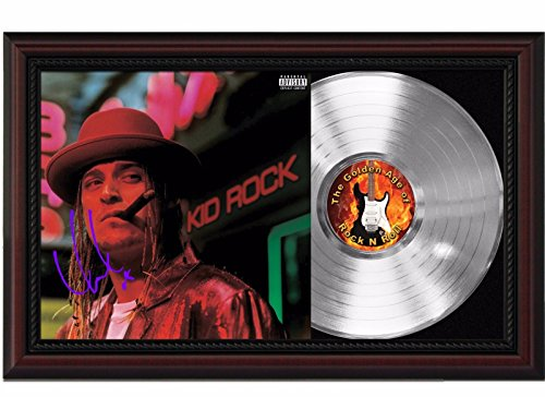 Kid Rock Devil Without a Cause Cherrywood Framed Platinum Reproduction Signature Display M4