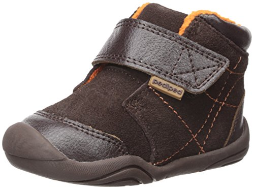 Pediped Troy Bootie (Infant/Toddler), Chocolate, Medium/5-5.5 E US Infant