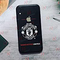 GADGETS WRAP Black United Manchester Back Skin for Apple iPhone XR (Back ONLY) -co-