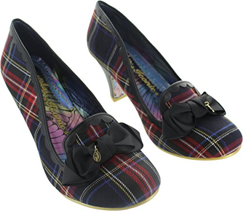 Irregular Choice Women's Kanjanka Textile Court Shoes Multi w9Nebg
