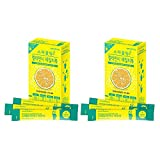 2Pack Calamansi Sparkling Juice Extract Powder Detox Vitamin C Dietary Fiber 14 sticks For Sale