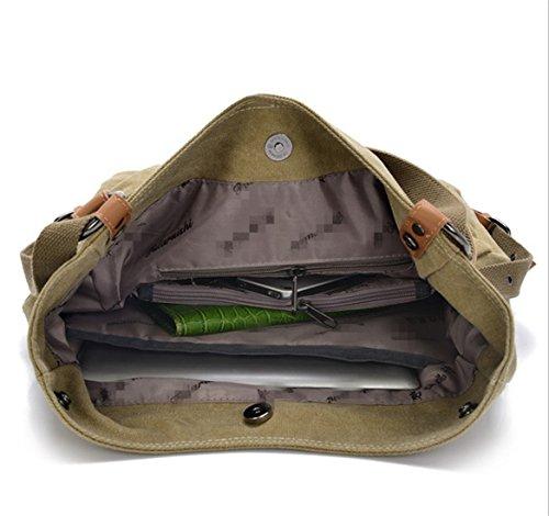 Handbags Canvas Fashion Backpack Ruscksack Shoulder Women Bag Black Travel Large For Girls Purse Nodykka Capacity XqFz8wxX