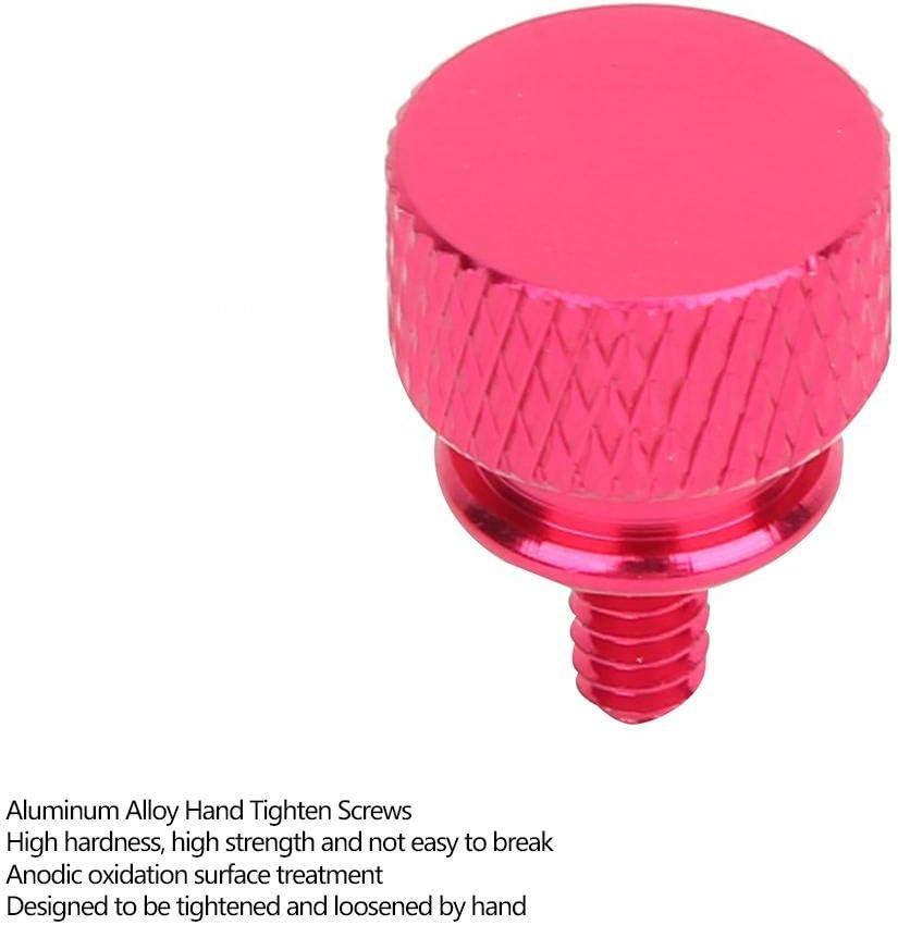 Hot Pink 20 St/ück//Set Schrauben festziehen R/ändelschrauben aus Aluminiumlegierung Handschraubverschluss