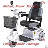 CTM - HS-570 - Mid-Range Scooter - 3-Wheel - Silver - PHILLIPS POWER PACKAGE TM - TO $500 VALUE