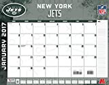Turner Licensing Sport 2017 New York Jets Desk Pad Calendar, 22''X17'' (17998061546)