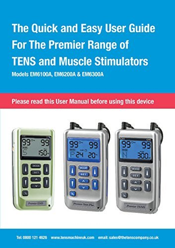 Premier Plus Rechargeable TENS Machine for Pain Relief - Combined with Muscle & Neuromuscular Simulation - 24 clinically Approved programmes by Med-Fit (Image #6)