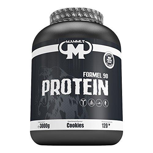 Mammut Formel 90 Protein (4 Komponenten Protein), Cookies, 1er Pack (1 x 3 kg)