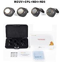 DZT1968 4pc/set 2017 40mm MRC-UV MRC-CPL ND4 ND8 Camera Lens Portable HD Filters for DJI SPark