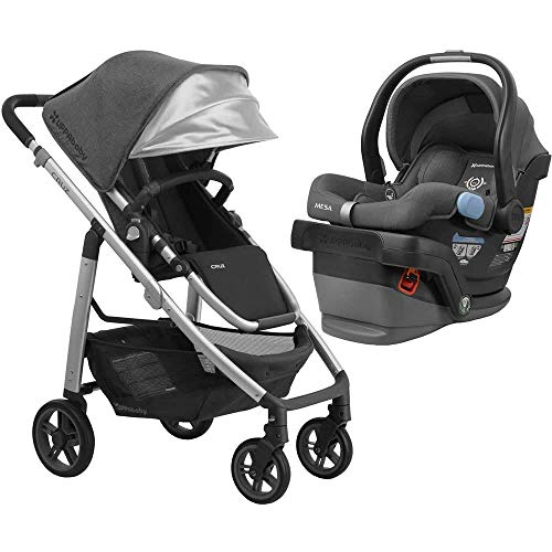 UPPAbaby Full-Size Cruz Infant Baby Stroller & MESA Car Seat Bundle, Jordan