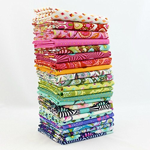 Tula Fat Quarter (Slow and Steady Fat Quarter Bundle (TP.SS.25FQ) by Tula Pink for Freespirit)