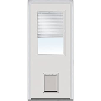 Superieur National Door Company ZA00229 Steel, Primed, Left Hand Inswing, Exterior  Prehung Door,