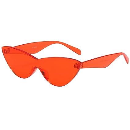 166c1aa57 Amazon.com: YEZIJIN Women Man Fashion Vintage Solid Color Sunglasses ...
