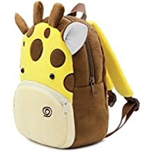 BJYOYO Cute Animal Toddler Baby Backpack Plush Toy Backpack Travel Bag for 2-5
