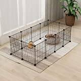 Tespo Pet Playpen, Small Animal Cage Indoor
