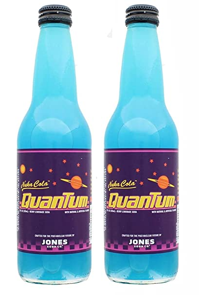 Amazon.com: Jones Soda Fallout 4 Nuka-Cola Quantum 12oz ...