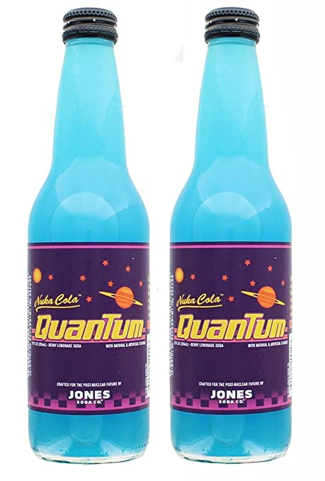 photograph regarding Nuka-cola Quantum Printable Label referred to as Jones Soda Fallout 4 Nuka-Cola Quantum 12oz Berry Flavored Consume - 2-Pack