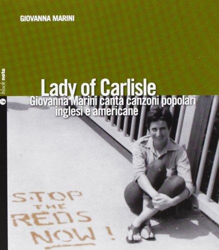 LADY OF CARLISLE - GIOVANNA M by Giovanna Marini (2013-01-01)