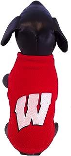 product image for NCAA Wisconsin Badgers Collegiate Polar Fleece Dog Sweatshirt (X-Small)