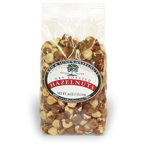 Dry Roasted Hazelnuts - 16 Oz Bag (Hazelnut Roasted)