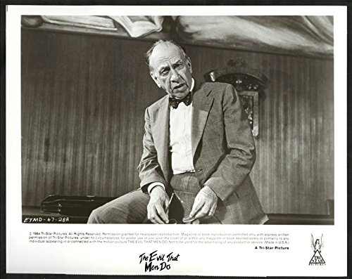 MOVIE PHOTO: EVIL THAT MEN DO-8X10 B&W PHOTO-JOSE FERRER AS HECTOR FN