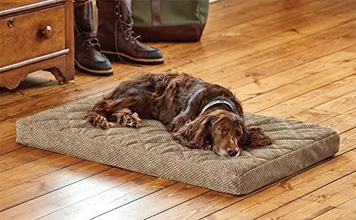 Orvis Memory Foam Platform Dog Bed Medium Dogs 40-60 Lbs.