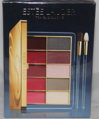 Estee Lauder Travel Exclusive Limited Edition Color Lip & Eye Shadow Palette 10 Colors - Exclusive Lip & Eye Palette