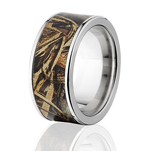 Camo Rings: Official RealTree Max 5 Titanium Ring, Camo Bands