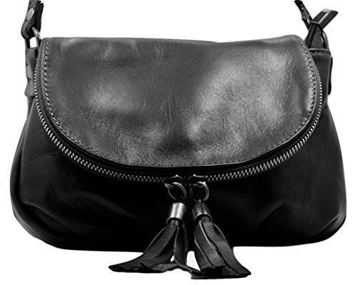 Black Soft Italian Leather - 3