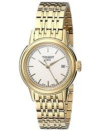 Tissot Women's T0852103302100 Carson Analog Display Swiss Quartz Gold Watch
