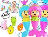 Best Gifts For 1 Year Old Girls Waters - OML Cali Bath Toys for Girls | Mermaid Review