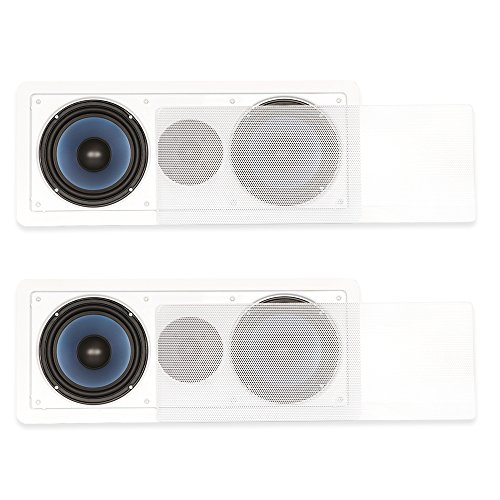 Blue Octave Home RLCR6-2S in Wall 3 Way Speaker Dual 6.5