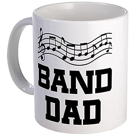 CafePress - Band Dad Music Staff - Unique Coffee Mug, Coffee Cup (Marching Band Mug)