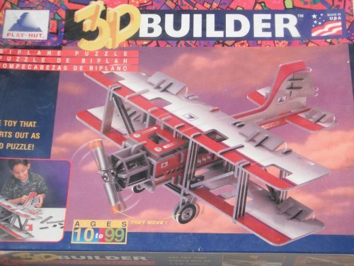 【5%OFF】 3d Builder複葉機パズルby 3d play-hut by by B005PC9F4U 3d Builder B005PC9F4U, Ralph Land:85ee97e0 --- quiltersinfo.yarnslave.com