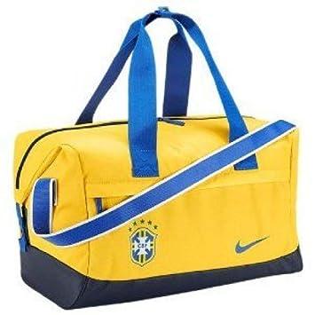 Nike Bolsa de Viaje de Brasil Brasil fútbol fútbol: Amazon ...