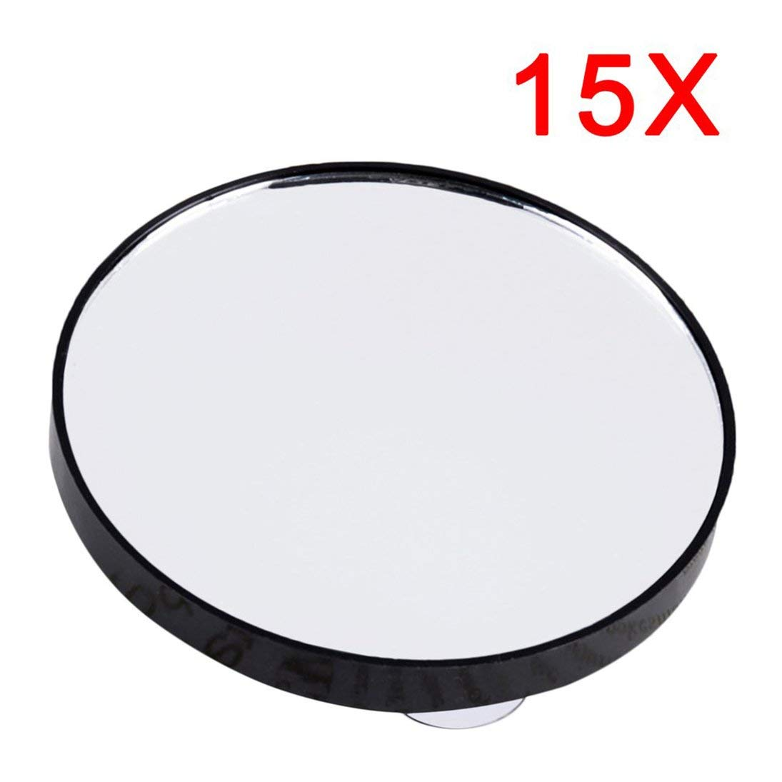 Baynne Vanity Makeup Mirror 5X 10X 15X Magnifying Mirror With Two Suction Cups Cosmetics Tools Mini Round Mirror Bathroom Mirror
