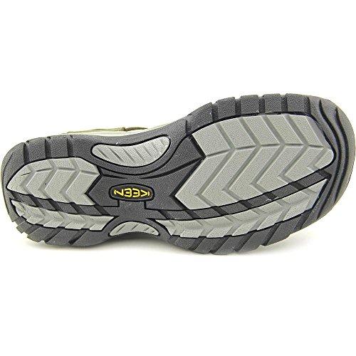 Keen ARROYO II - Zapatillas deportivas para exterior de cuero nobuck hombre Night/Neutral Gray