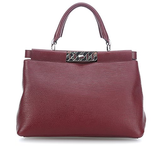 bordeaux BOSS Veronika à main Sac WHBYqOYTP