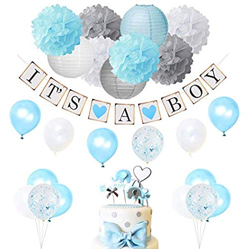 JP Events – Baby Shower Decorations Kit | It'a a Boy It's a Girl | Baby Shower Balloons Banner Decorations | Baby Shower…