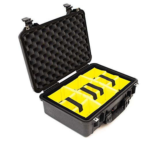 Pelican 1500 Case With Padded Divider Set ()
