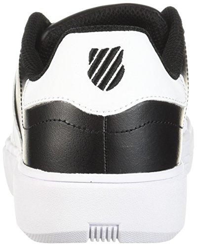 K-swiss Womens Pershing Domstol Cmf Sneaker Svart / Hvit