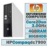 HP Compaq dc7900 SFF/Core 2 Duo E8400 @ 3.00 GHz/ 4GB DDR2 / 80GB HDD/DVD-RW/No OS