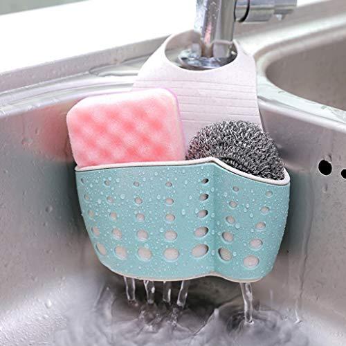 Sunnyys Kitchen Drainage Shelf Multifunctional Dishwashing Sponge Storage Rack (Rack Outlet Shoe)