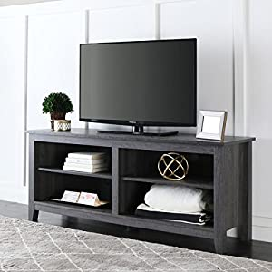 "58 inch Charcoal Grey TV Stand (24"" H x 58"" W x 16"" L)"