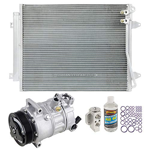 OEM AC Compressor w/A/C Repair Kit For VW Passat & CC - BuyAutoParts 60-85023R5 New ()